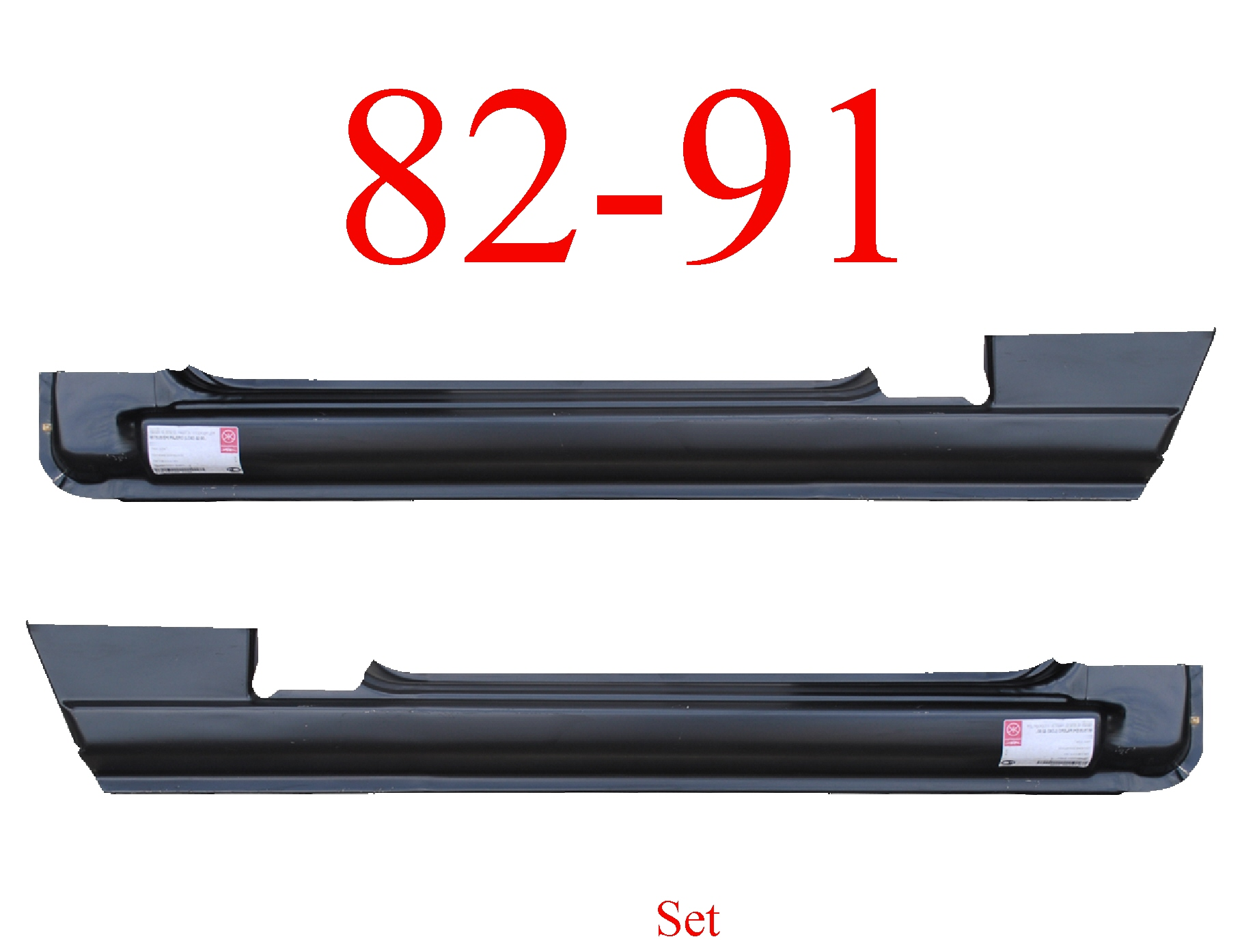 82-91 Mitsubishi Montero Rocker Panel Set